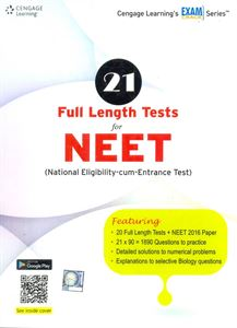Picture of 21 Full Length Tests For NEET