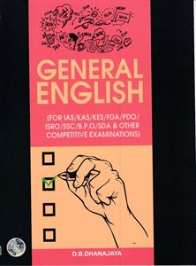 Picture of General English For (IAS/KAS/KES/FDA/PDO/ISRO/SSC/BPO/SDA & Other )